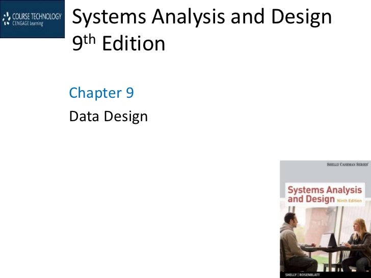 Systems Analysis and Design9th EditionChapter 9Data Design