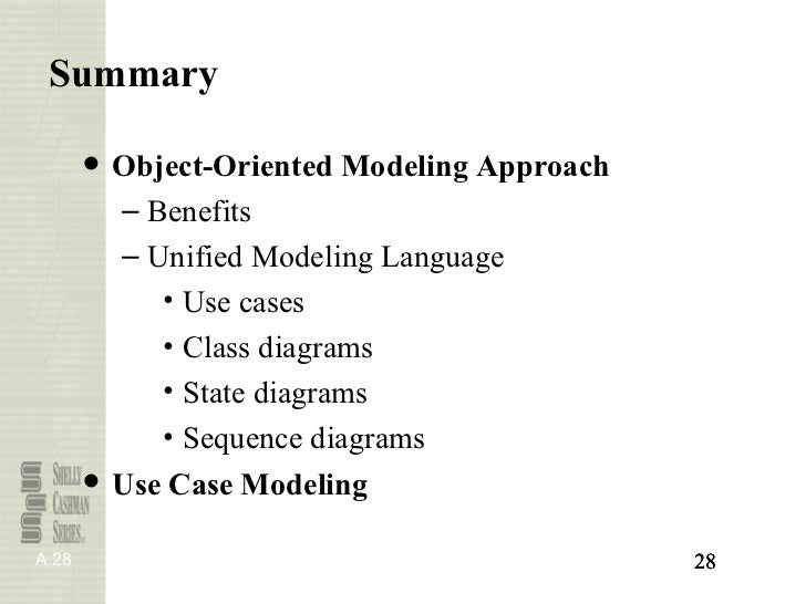 Object oriented systems 2