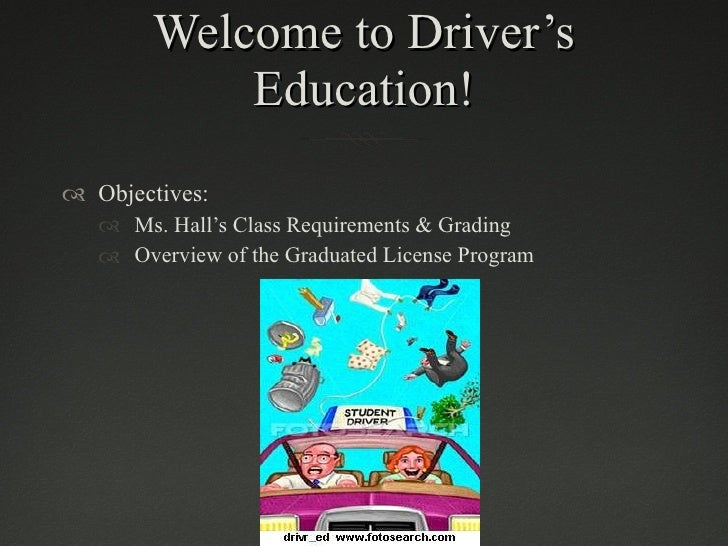 Drivers Education Ch.1