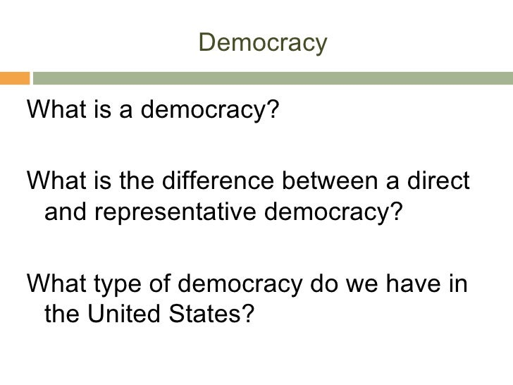 an understanding of the term democracy Republic definition is both democracy and republic have more than a single meaning, and one of the definitions we provide for democracy closely resembles the.