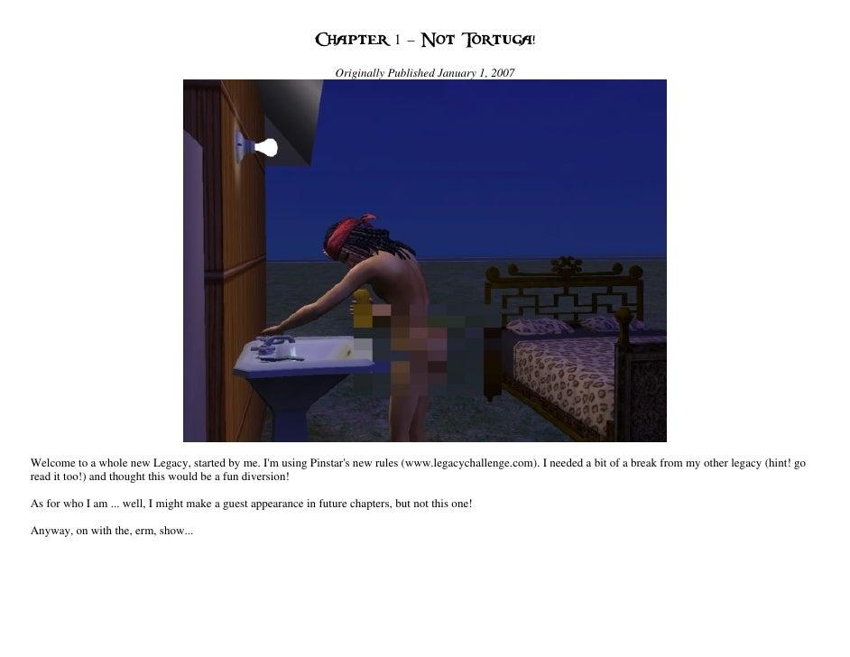 Chapter 1 – Not Tortuga!                                                                 Originally Published January 1, 2...