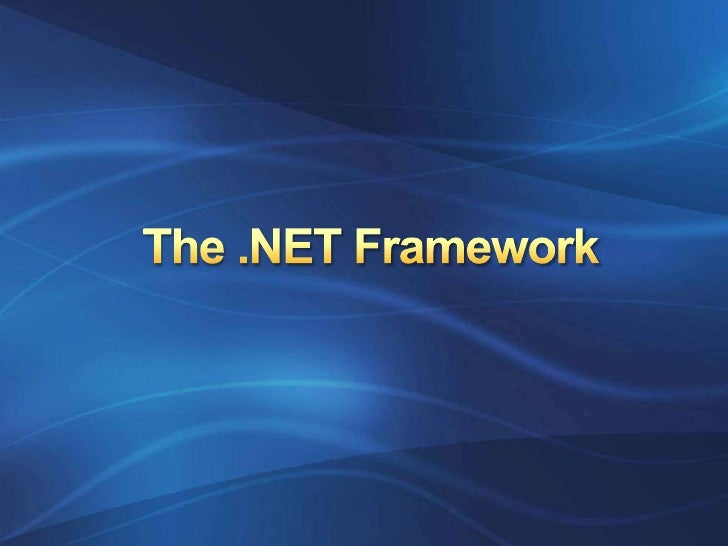 The .NET Framework<br />