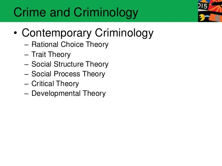 rational choice theory latent trait  rational choice theory & latent trait theory cj200 september 28, 2013 1 thesis i will explore rational choice theory and latent trait theory i will further show how society responds to criminal behavior i will show similarities and divergences between the two theories 2 history of criminology 3 rational choice theory a.