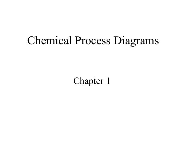 Chemical Process Diagrams        Chapter 1