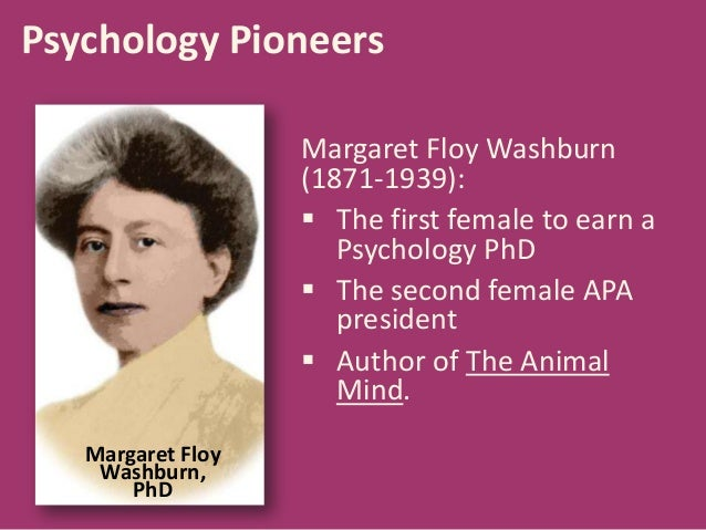 mary whiton calkins essay Women in the field of psychology history essay print mary whiton calkins  if you are the original writer of this essay and no longer wish to have the.