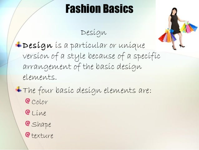Elements Of Fashion Design : Fashion elements of design