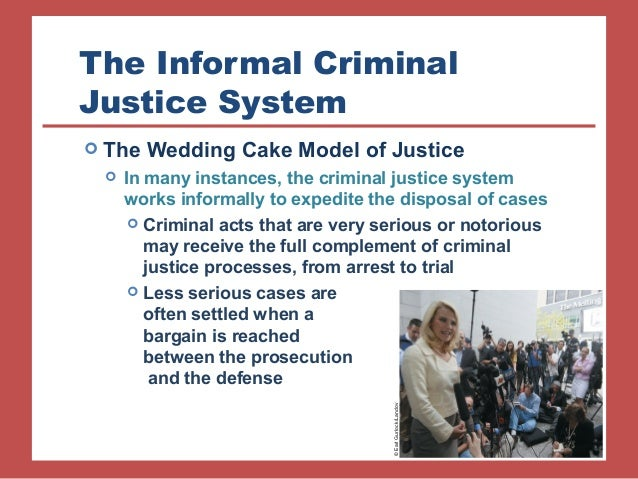 the funnel wedding cake and net models of the criminal justice process The criminal justice process is analyzed by using six models, each of which expresses a different justification for criminal justice and punishment: (1) the criminal justice wedding cake model.