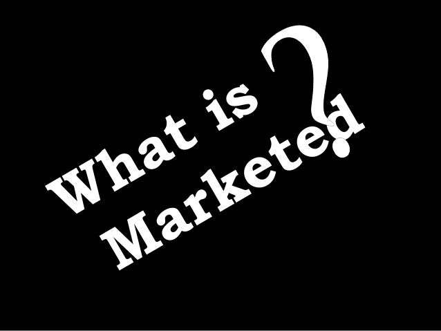 marketing meeting needs profitably Meeting needs profitably  the aim of marketing is to know and understand the customer so well that the product or service fits him and sells itself.