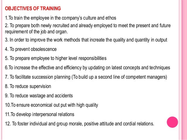 employee training and development an important The top 10 benefits of ongoing staff training and development as you can see, ongoing training is important not just to employee development.