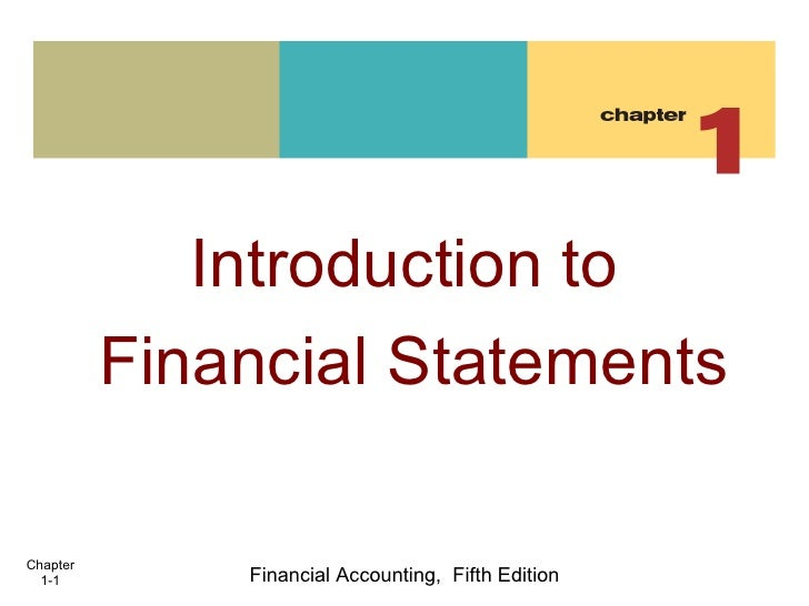 Chapter 1. accounting overview2