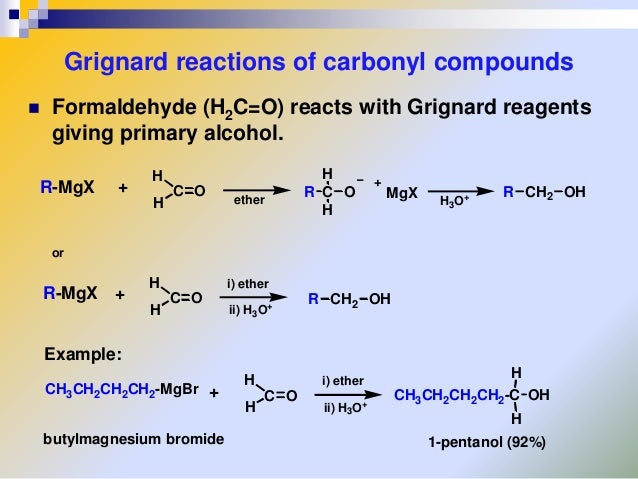 grignard reaction lab report Learn how to set up and conduct the grignard reaction experiment chemistry lab grignard reaction experiment need to report the video.