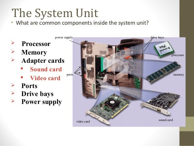 component of computer system Chapter 2 basic structure of computers  advanced reliable systems (ares)  program, the computer must already contain some system software in its memory.