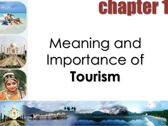 importance of tuarism In this section i will explain the different developments in the tourism industry since the 1960's and what effect it has on the travel industry.