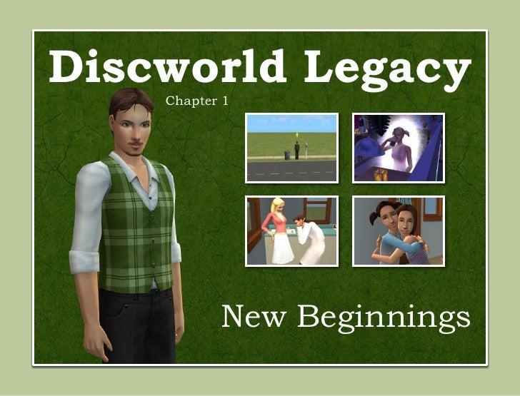 Discworld Legacy    Chapter 1           New Beginnings