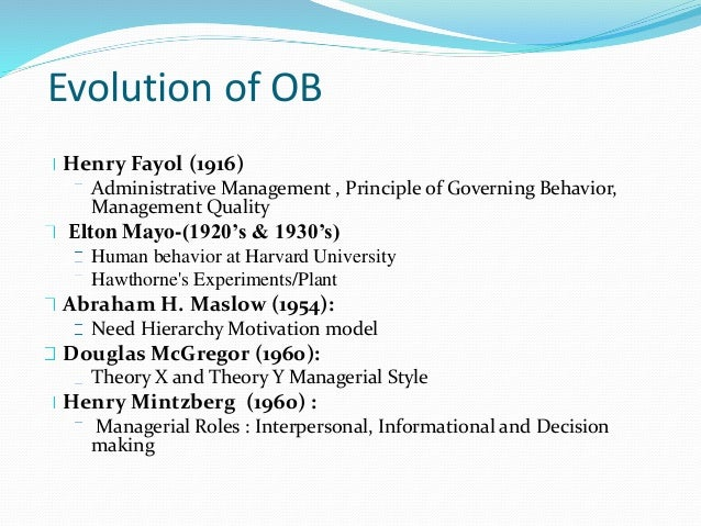 ob behaviour essay Behavioural science and its contribution to organizational behavior essay organisational behaviour and its contribution to organizational behavior.