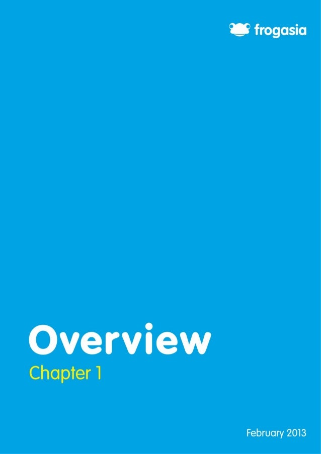 4  Chapter 1: Overview Contents Chapter 1: Overview .........................................................................