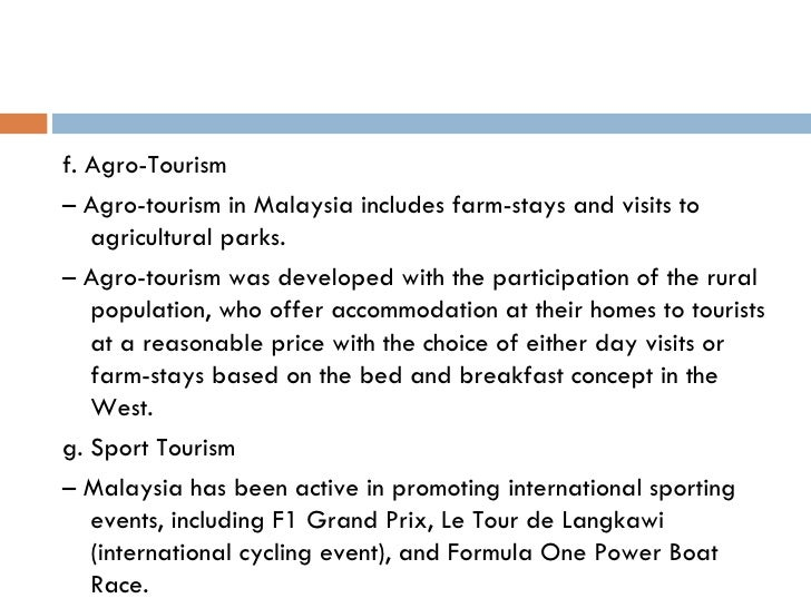 how to increase the number of tourist in malaysia essay