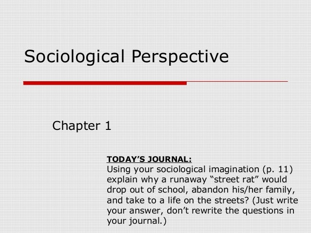 """analysis sociological imagination and its use sociology The sociological imagination enables its possessor to understand the larger historical scene in terms of its meaning for the inner life and the external career of a variety of individuals mills believed in the power of the sociological imagination to connect """"personal troubles to public issues."""