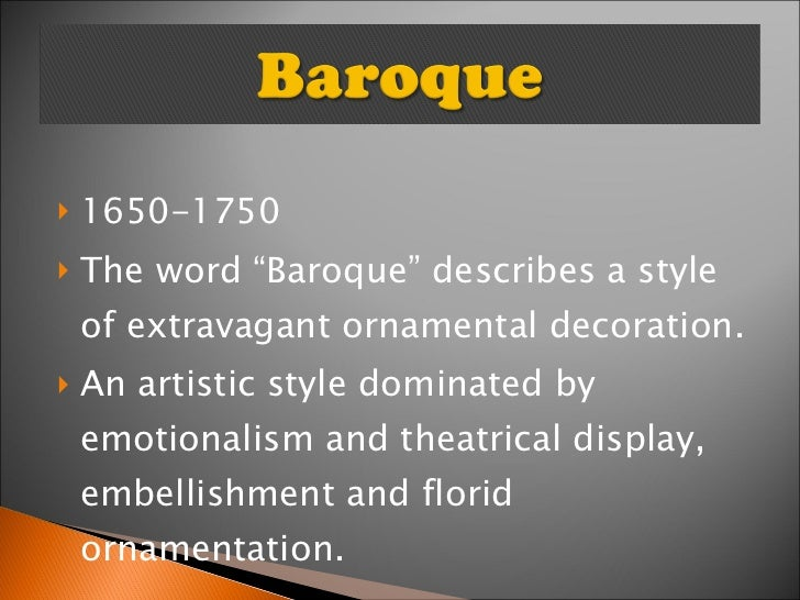 Chapter 10 11 baroque and enlightenment