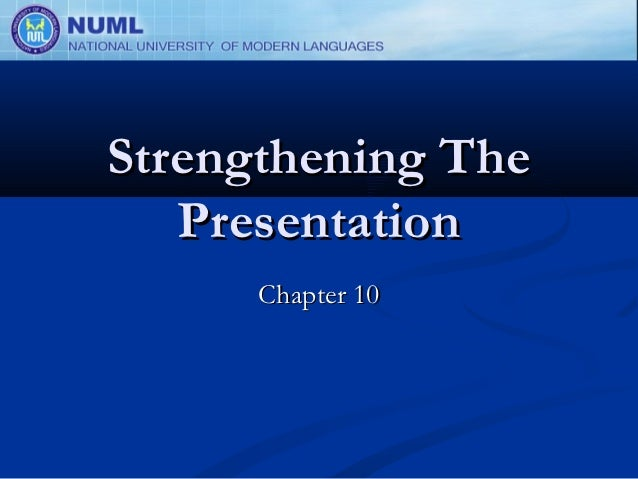 Personal Selling: Chapter 10
