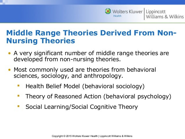 middle range nursing theories