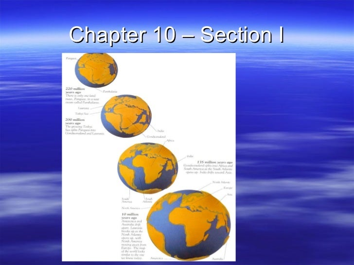 Chapter 10 – Section I