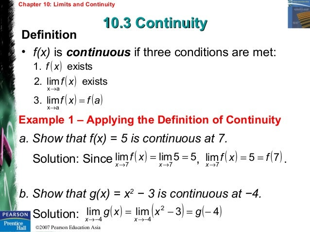 limits and continuity Limits are the most fundamental ingredient of calculus learn how they are  defined, how they are found (even under extreme conditions), and how they  relate to.