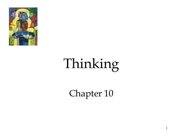 ThinkingChapter 10             1