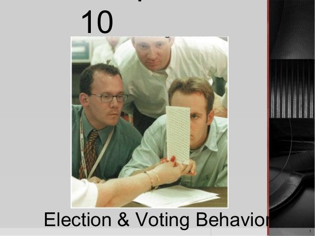 1 10 Election & Voting Behavior