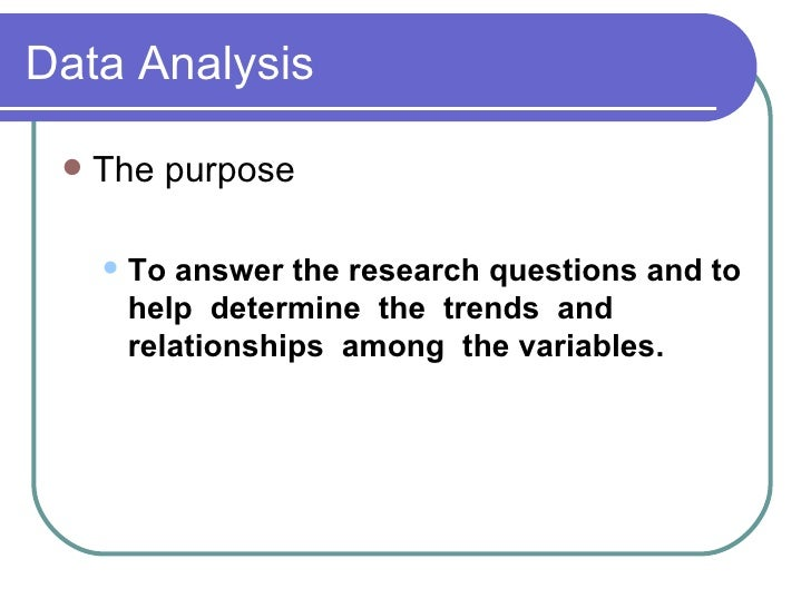 presentation and analysis of data thesis Data analysis, interpretation and discussion of employees' data 94 ph d thesis age: the employees of public and private sector banks are divided into three groups.