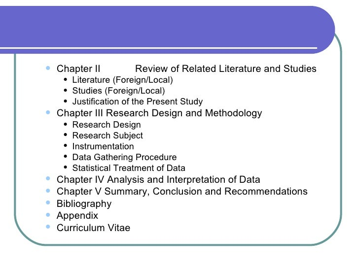 review of related literature and studies 7 essay