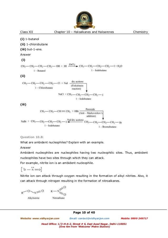Preparation of 1-bromobutane
