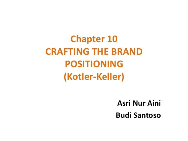 crafting the brand positioning essay When crafting your brand positioning strategy, your goal is to create brand  associations in consumers' minds so they perceive your brand as.
