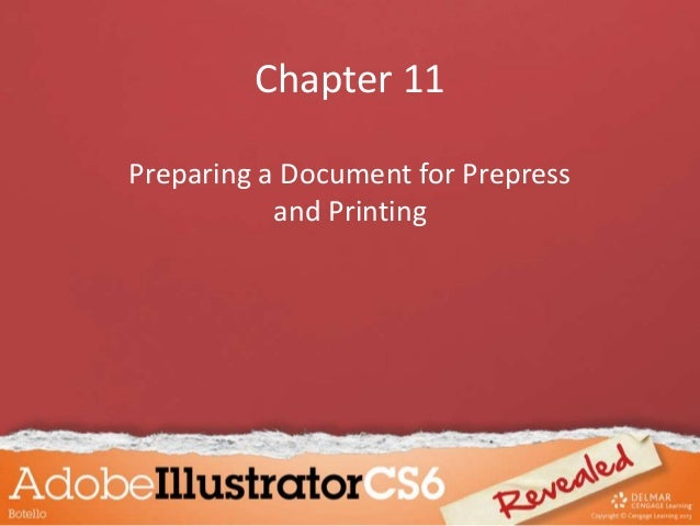 Chapter 11 Preparing a Document for Prepress and Printing