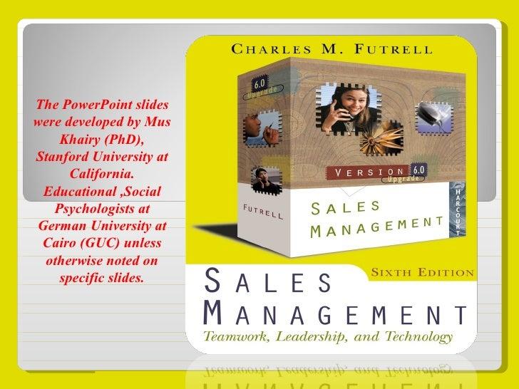 Sales Management  Skills