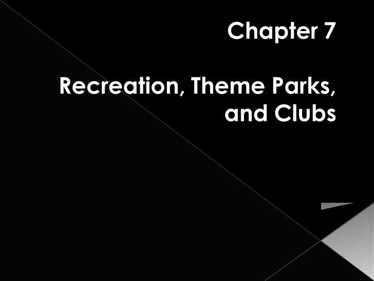 Chapter11 theme parks