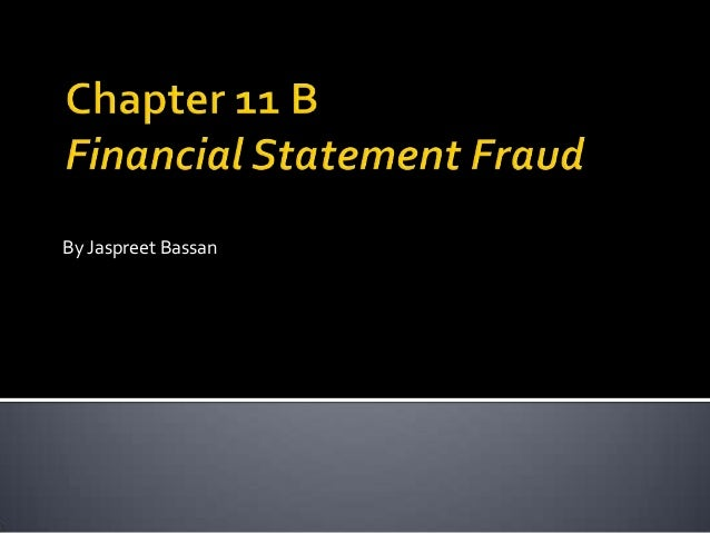 financial statements fraud University of south florida scholar commons graduate theses and dissertations graduate school 2008 detecting financial statement fraud: three essays.