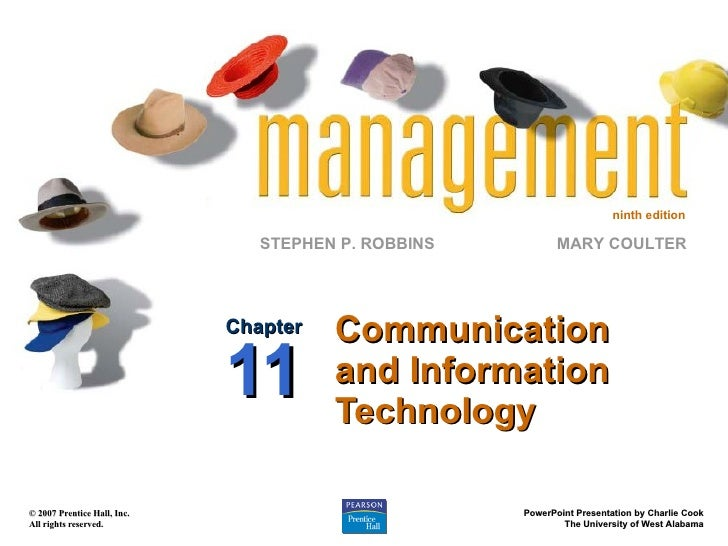 Communication and Information Technology Chapter 11