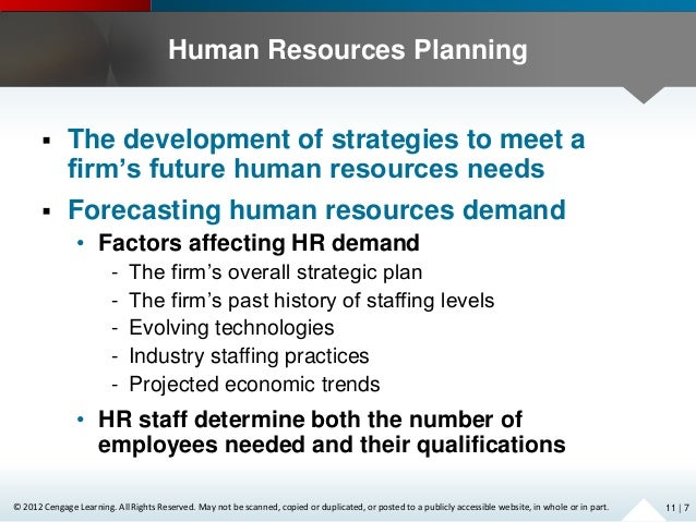 role of human resource department