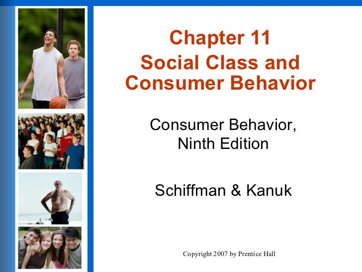 Chapter 11 Social Class and Consumer Behavior
