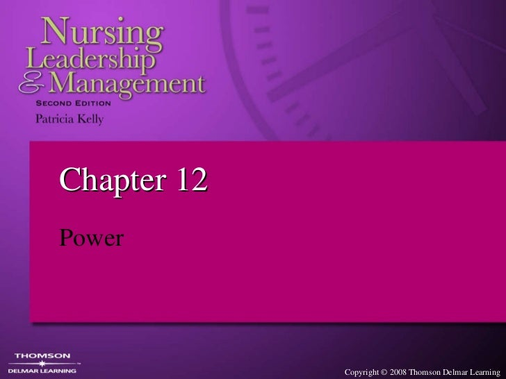 Chapter 12 Power