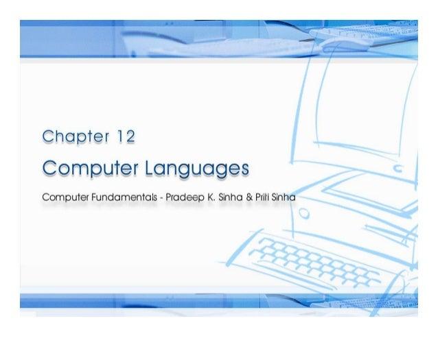 Computer Fundamentals Chapter 12 cl