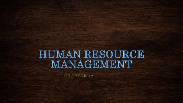 HRM (Human Resource Managment)