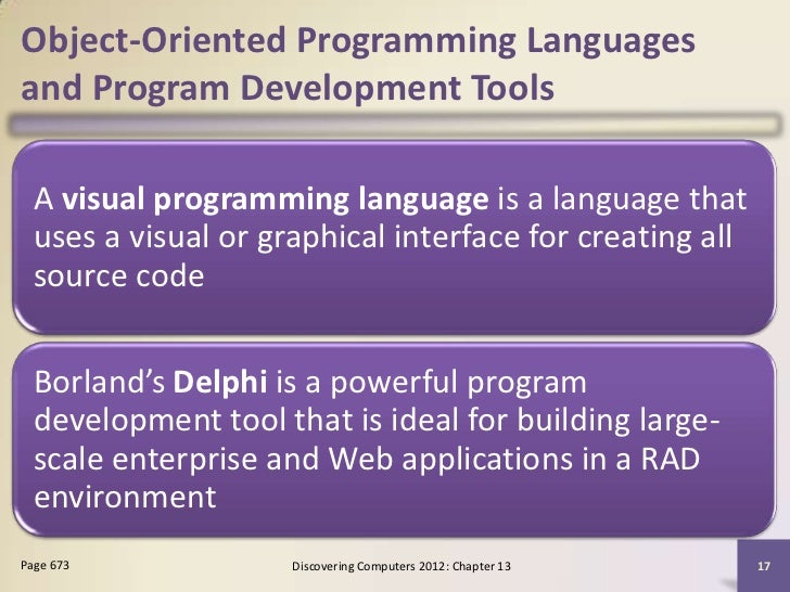 Where can I find an analysis essay on Borland delphi programming langauge already completed?