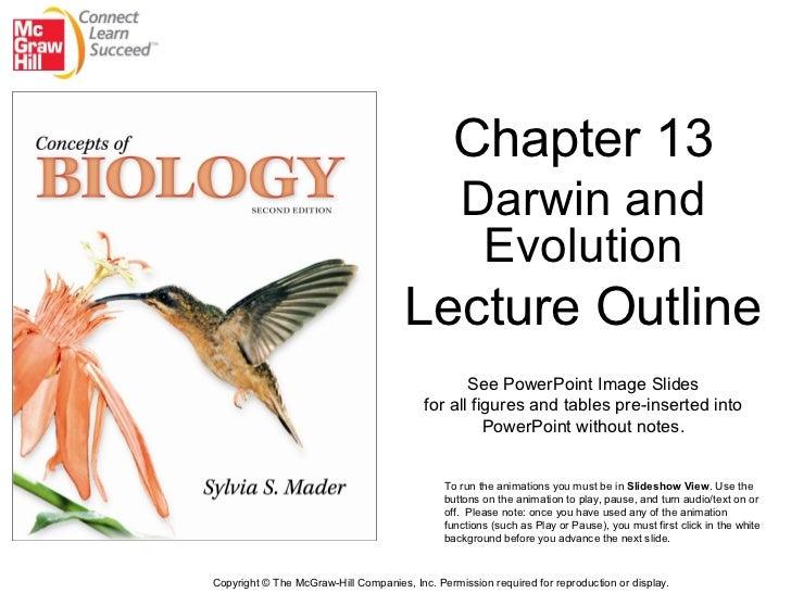 Bio 100 Chapter 13