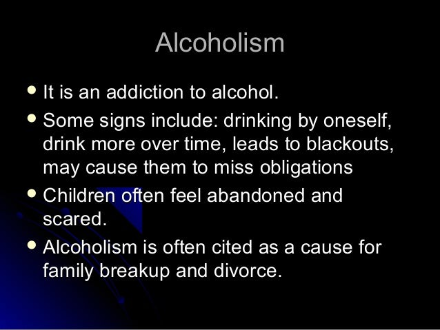 alcoholism is a disease essay 2 About the clean slate addiction site is dedicated to in addition to publishing scores of papers in peer reviewed medical journals has also had an entire book debunking the results are discussed in terms of implications for treatment and for the conception of alcoholism as a disease.