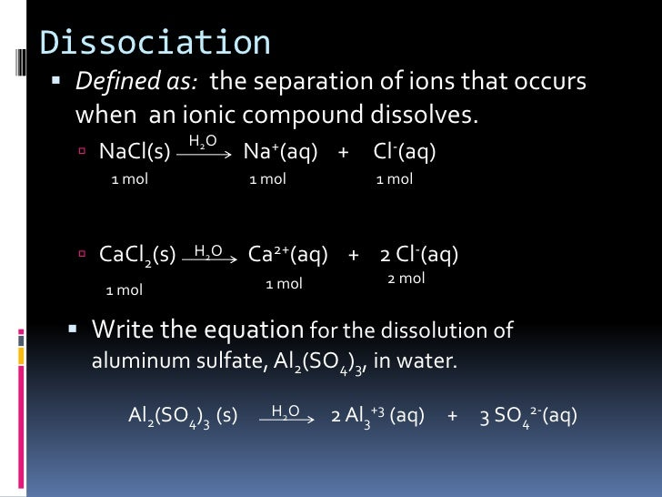 dissolving aluminium chloride in water Note that interpretations of graph are subjective your answers may be off by a few g or °c 1 how many grams of ammonium chloride will dissolve in 100 grams of water at 20°c.