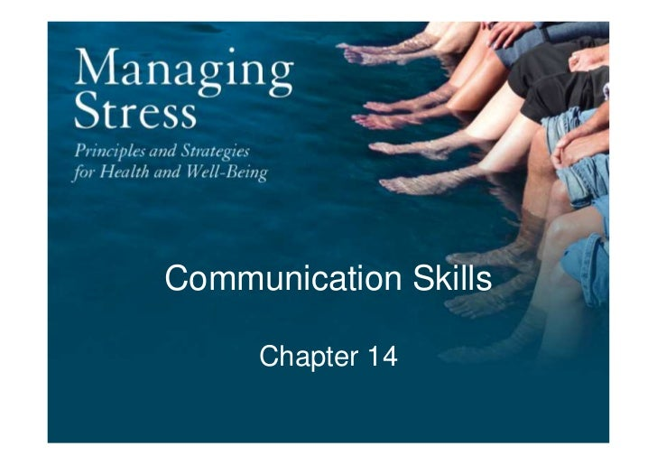 Chapter14   communication skills