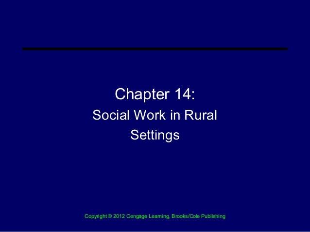 Chapter 14 Rural Social Work