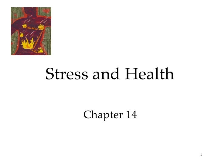 Chapter 14 ap psych- Stress & Health